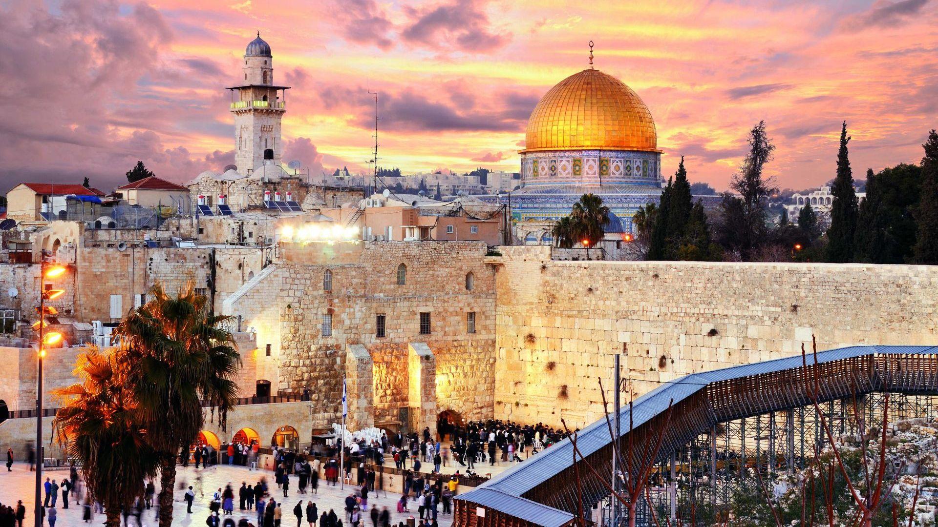 israel-jerusalem 1920 × 1080