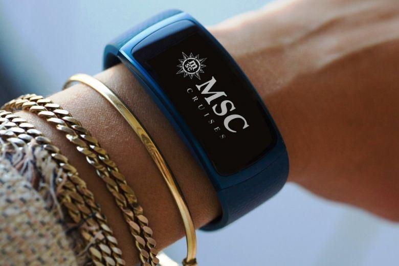 Samsung-smart-bracelets-MSC cruise  780 × 520