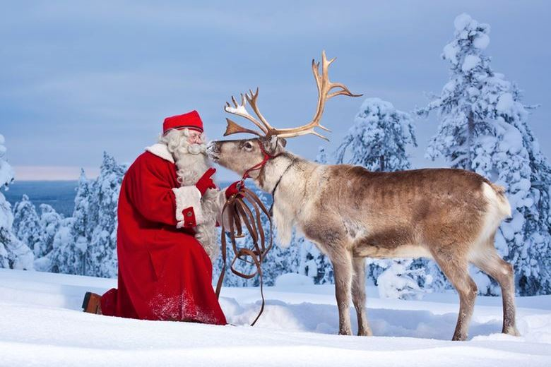 Finland Santa Claus Rovaniem-Finland 780 × 520
